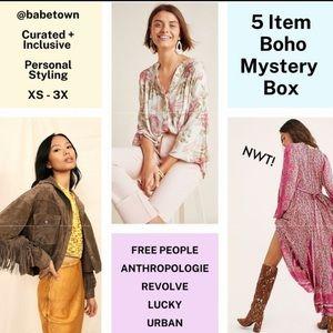 BOHO Mystery Box Free People Mystery Box Kimono